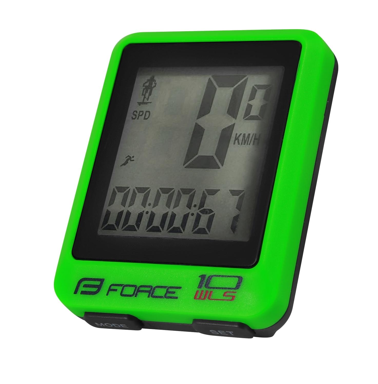 počítač FORCE WLS 10 funkcí bezdrát, fluo zelený