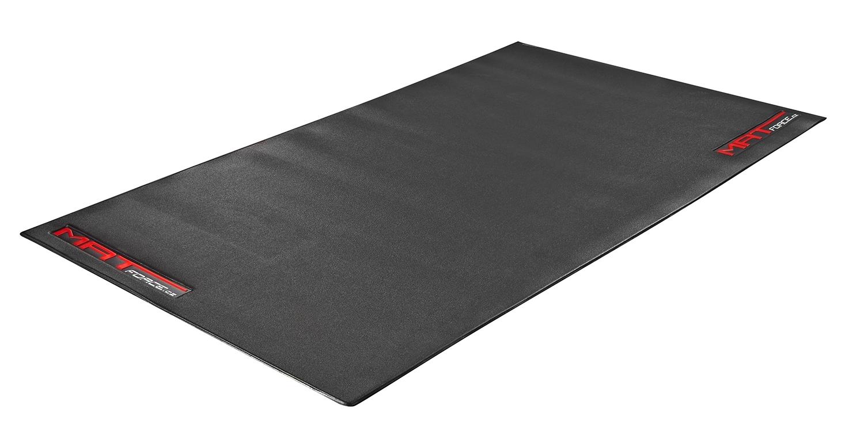 podložka FORCE MAT, PVC pod trenažér, černá