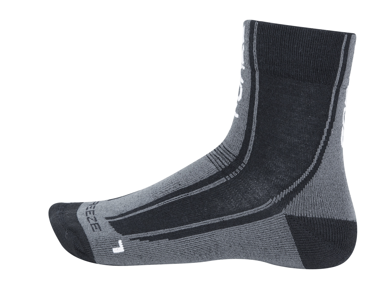 ponožky FORCE FREEZE, černo-šedo-bílé, L-XL