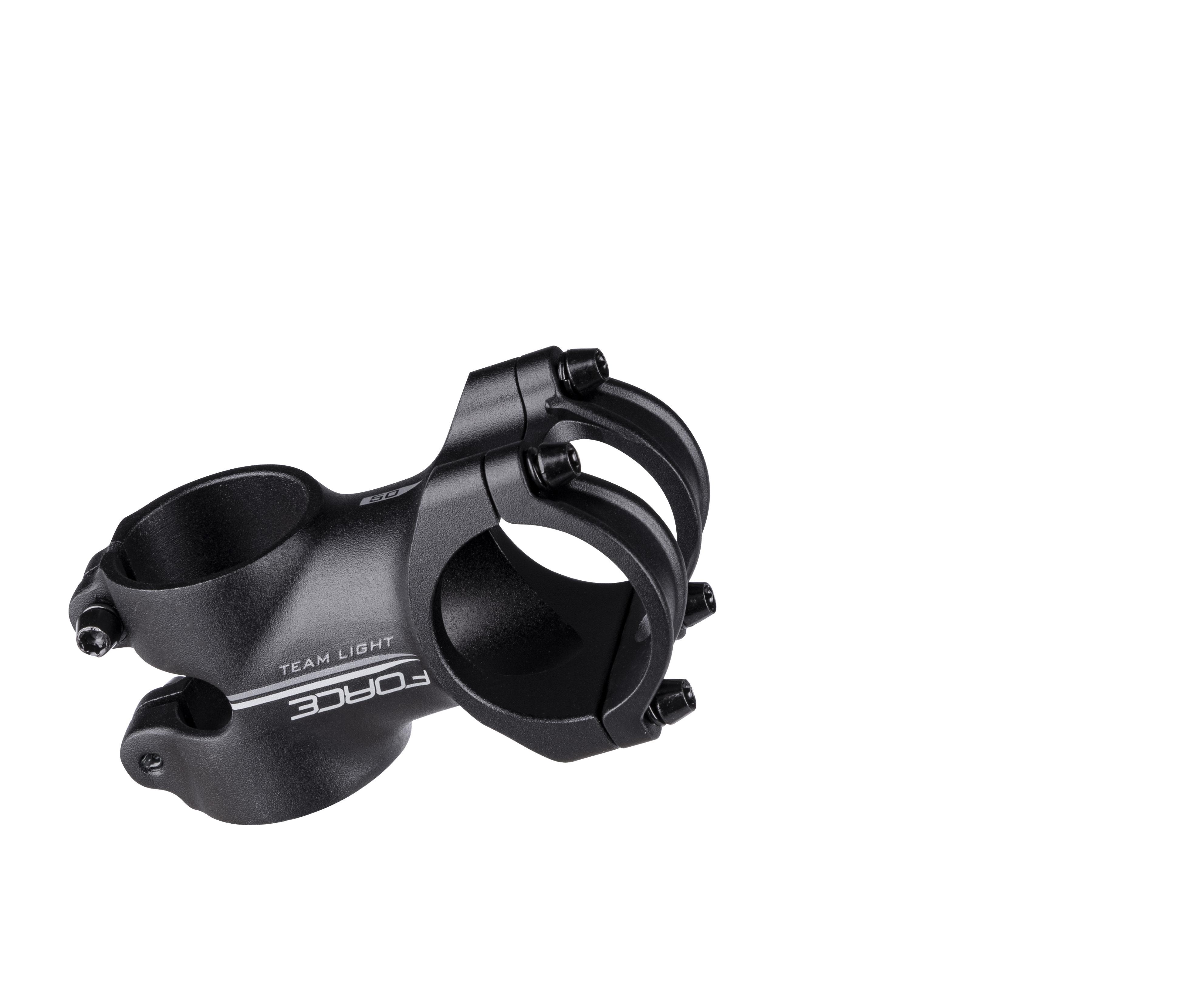 představec F.TEAM light 31,8/70mm,6° Al, černý mat
