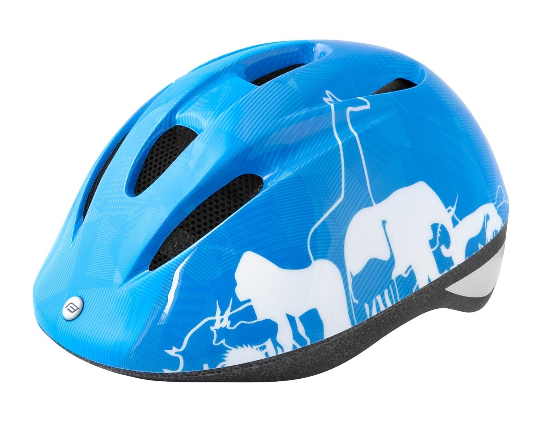 přilba FORCE FUN ANIMALS dětská modro-bílá M