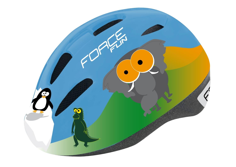 přilba FORCE FUN ANIMALS-ZVÍŘÁTKA dětská M
