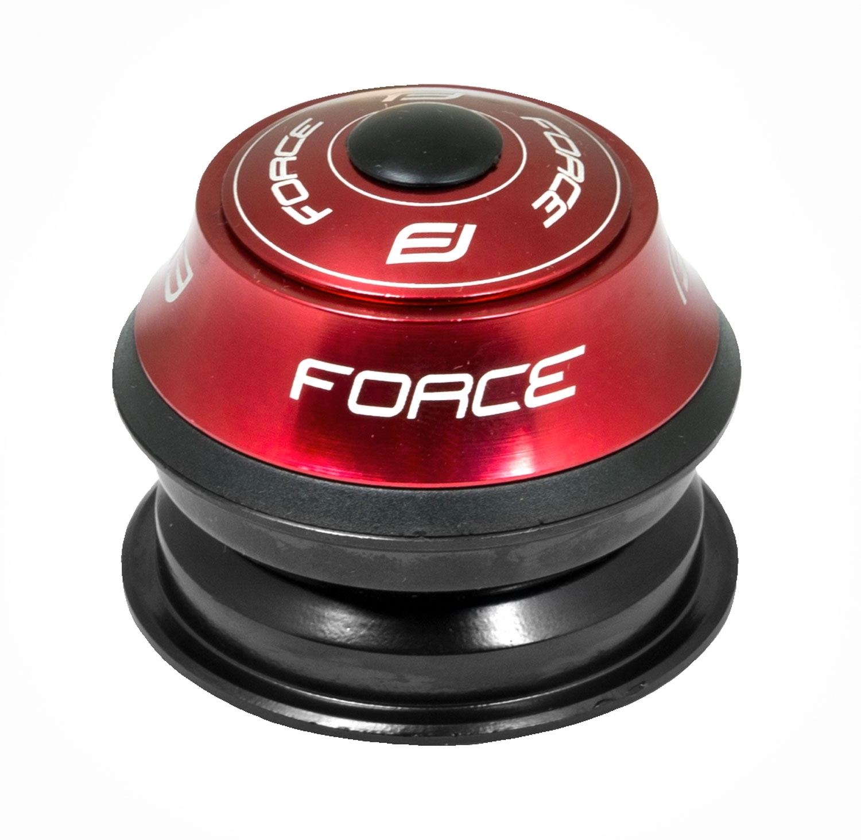 řízení F AHEAD 1 1/8'' polointegr. Fe, červené