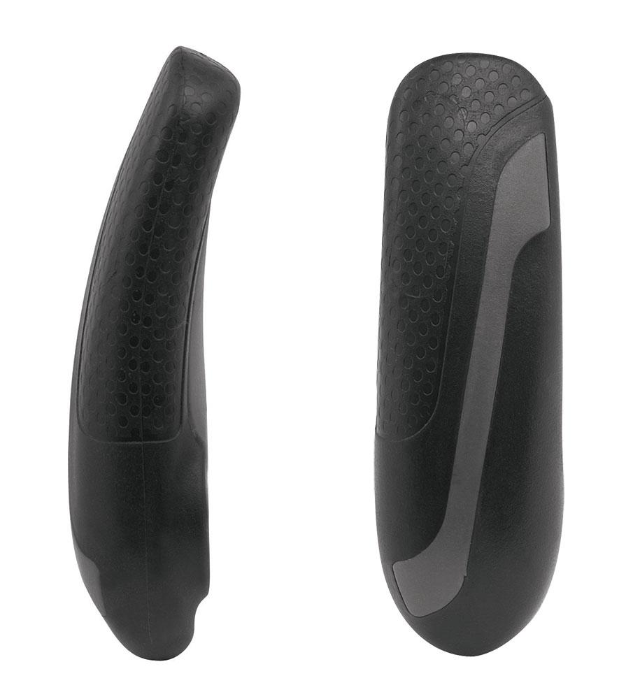 rohy FORCE KRATON Al 11,3 cm, šedo-černé