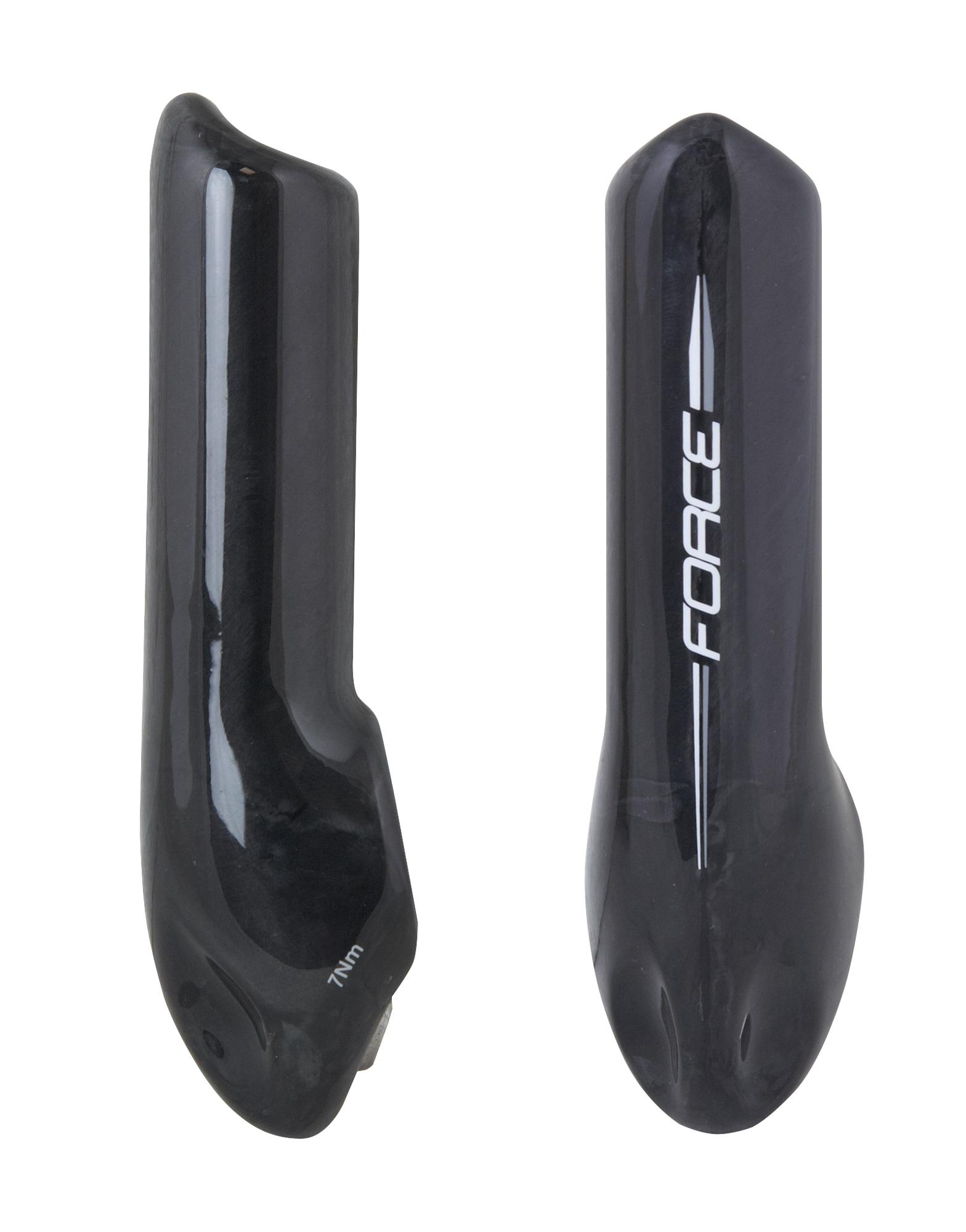 rohy FORCE ZAP 10,7 cm karbon lesklý