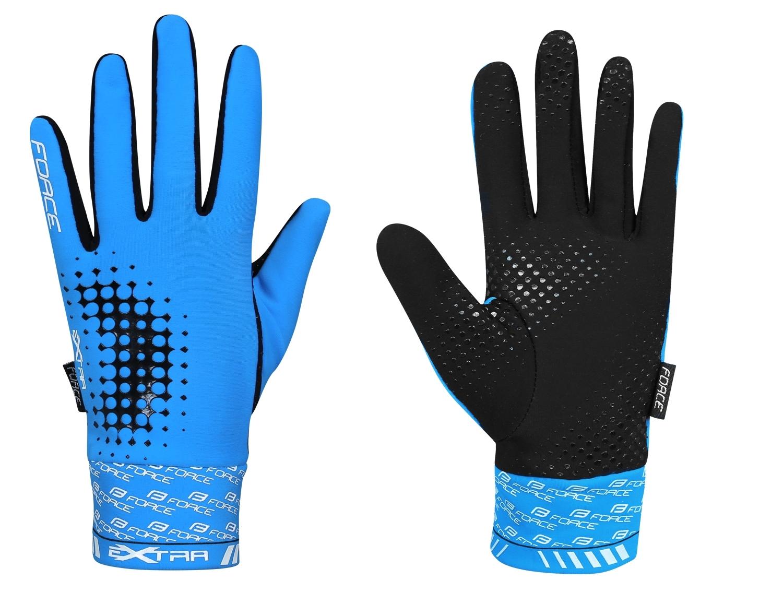 rukavice F EXTRA 17, jaro-podzim, modré M