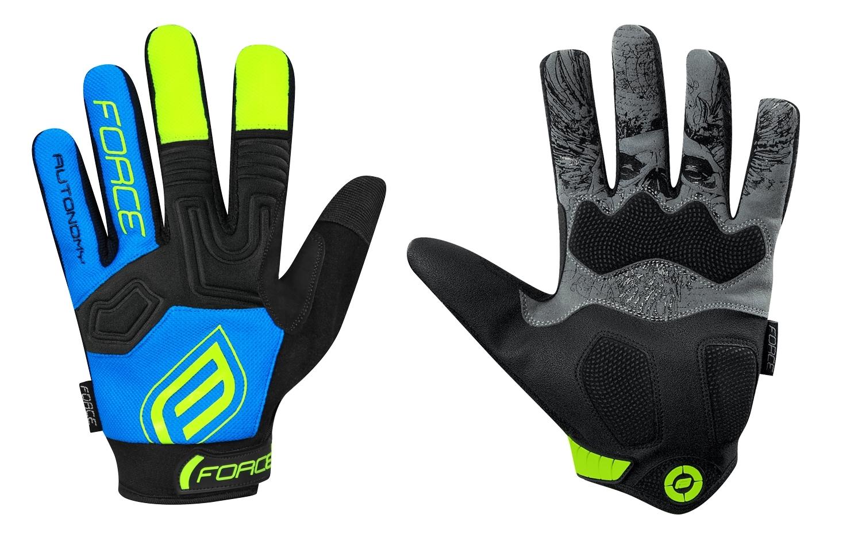 rukavice F MTB AUTONOMY 17 , černo-modré S