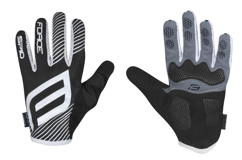 rukavice F MTB SPID letní bez zapínání, černé XXL