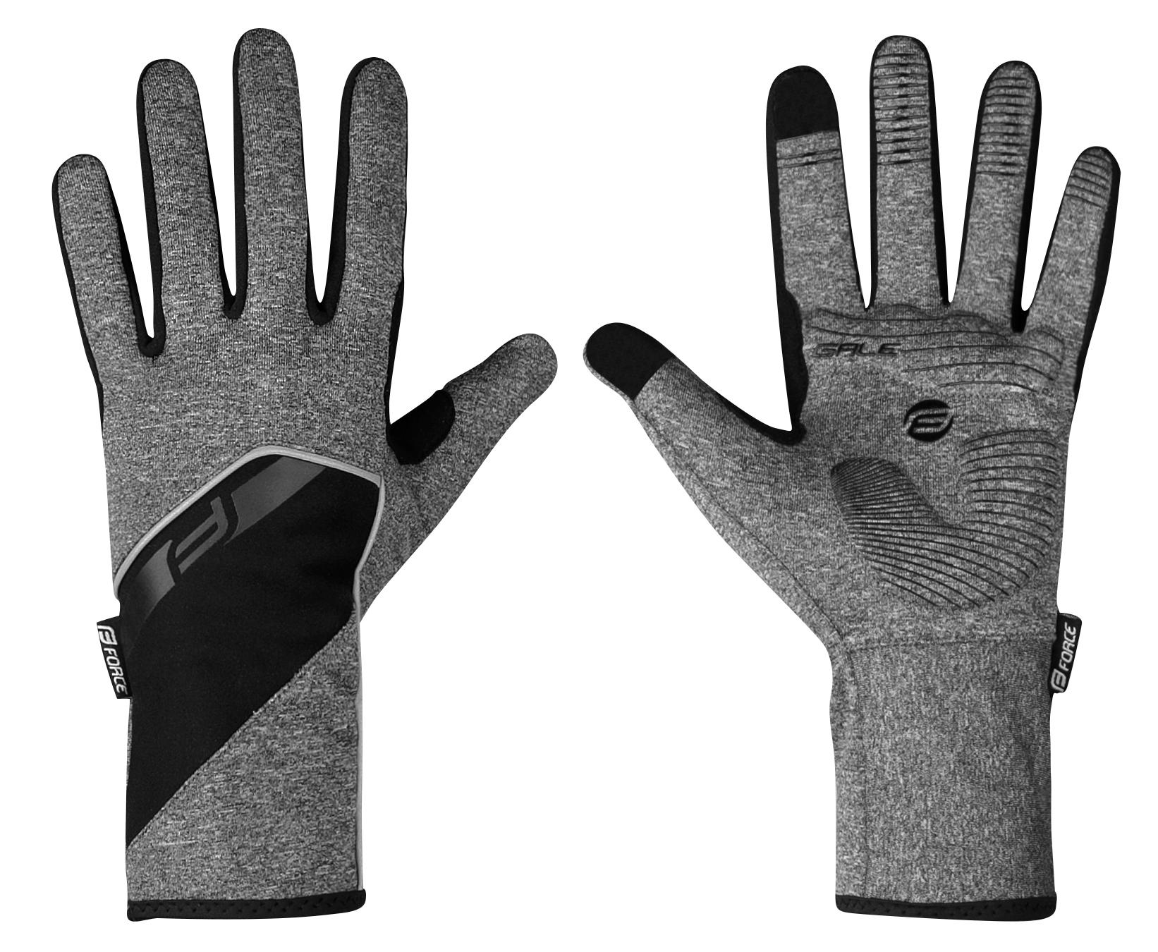 rukavice F MTB SPID letní bez zapínání, fluo L