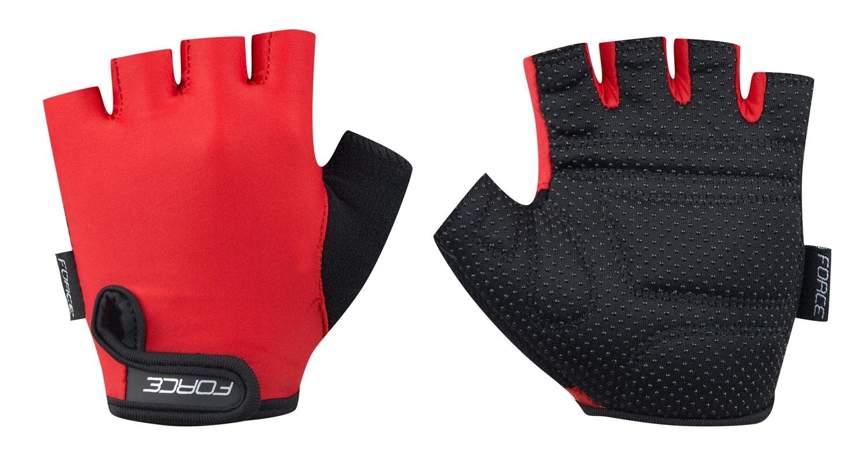 rukavice FORCE KID dětské, červené S