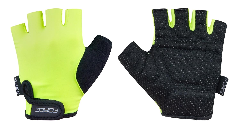 rukavice FORCE KID dětské, zelené