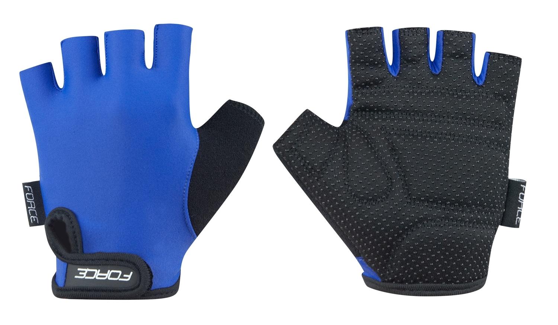 rukavice FORCE KID dětské světle modré