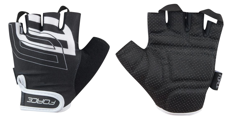 rukavice FORCE SPORT, černé XXL