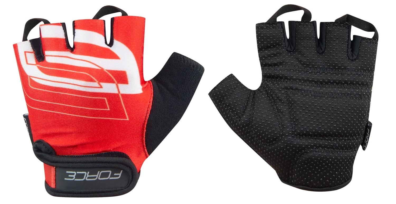 rukavice FORCE SPORT, červené XL