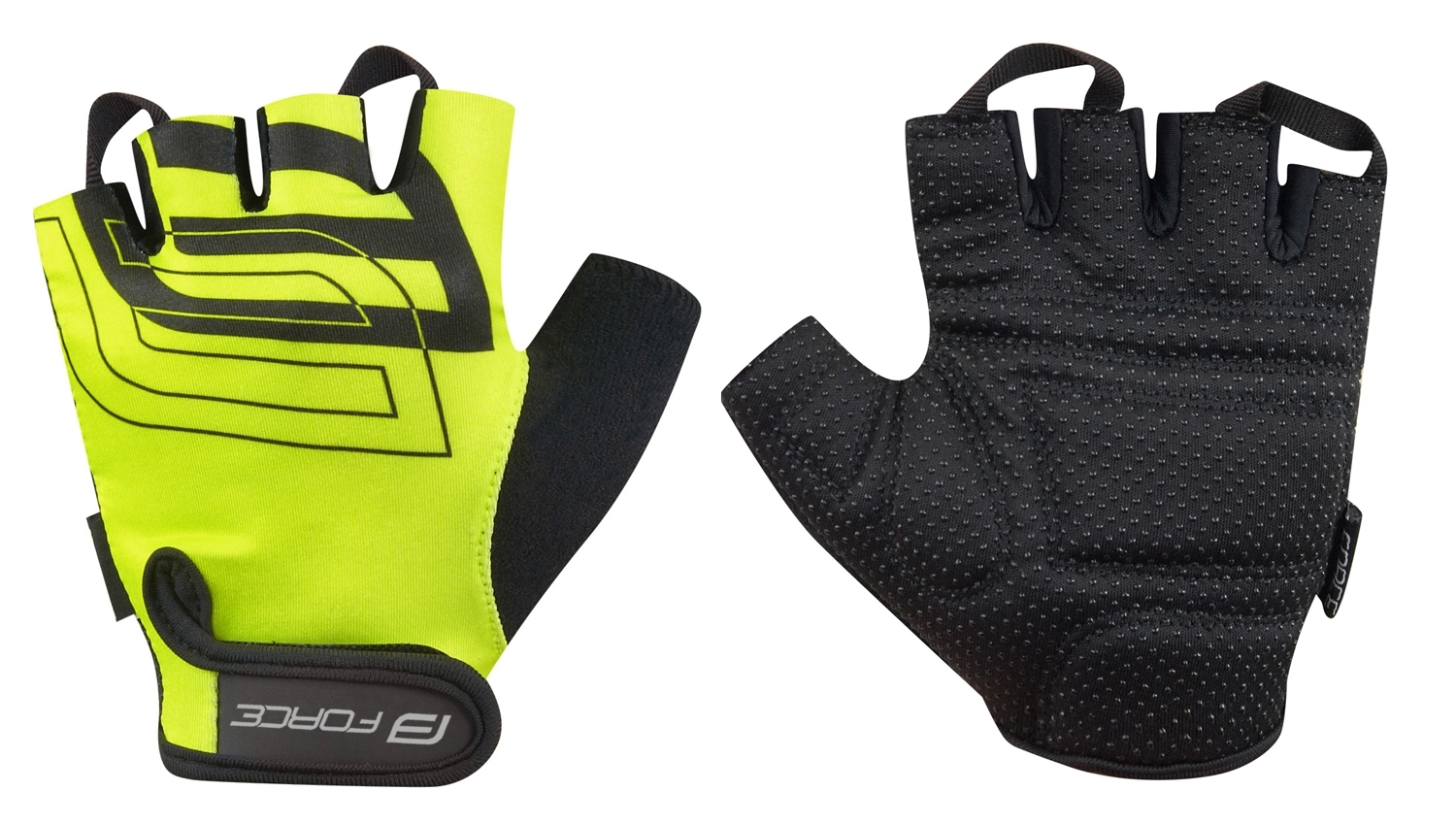 rukavice FORCE SPORT, fluo M