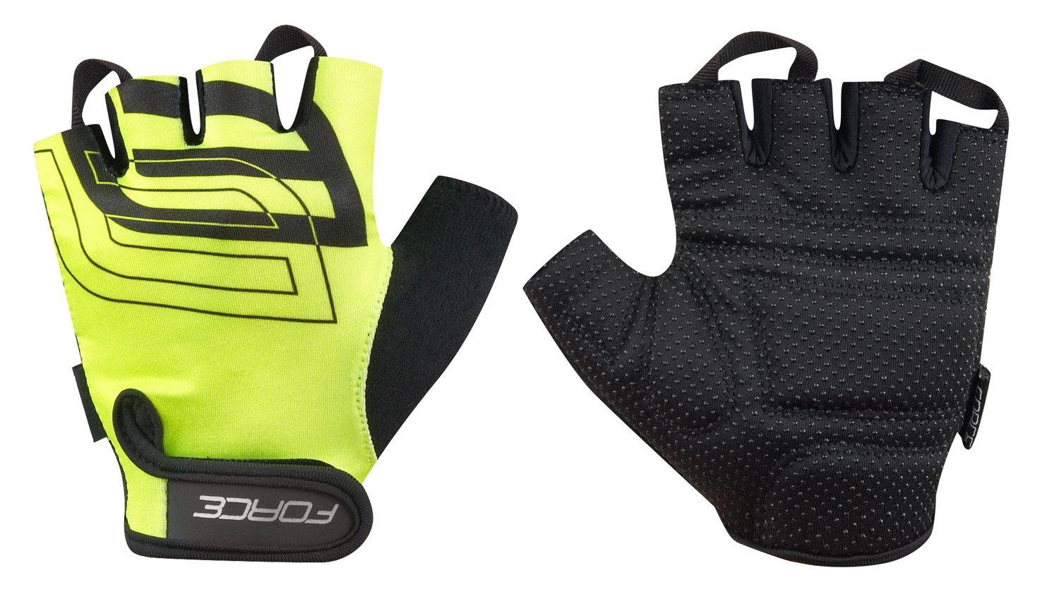 rukavice FORCE SPORT, fluo XS