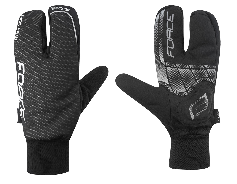 rukavice zimní HOT RAK černé