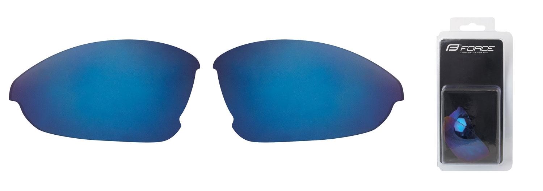 skla náhradní LADY pár, modrá laser