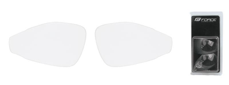skla náhradní PRO pár, čirá
