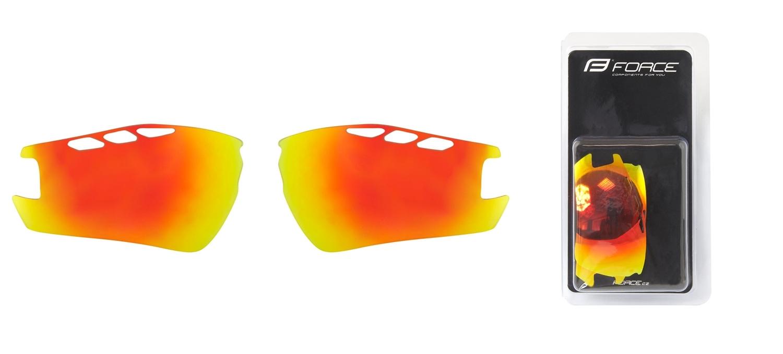 skla náhradní RIDE PRO , červená laser