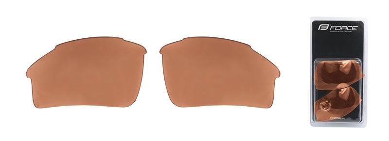 skla náhradní SPORT pár, hnědá rozjasňovací