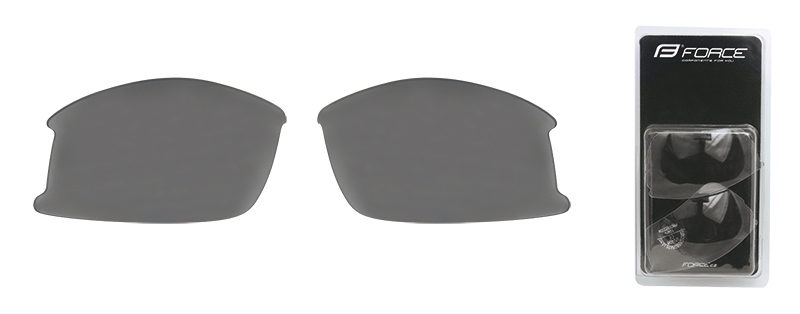 skla náhradní ULTRA pár, černá laser