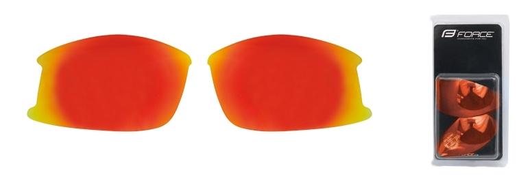 skla náhradní ULTRA pár, červená laser