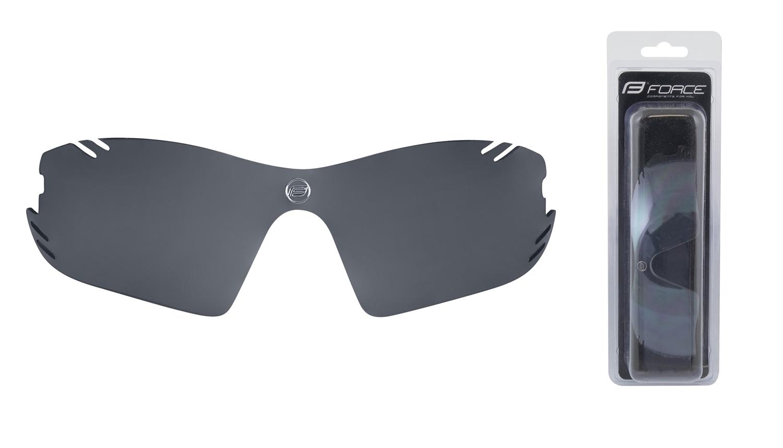 sklo náhradní RACE PRO , černé laser