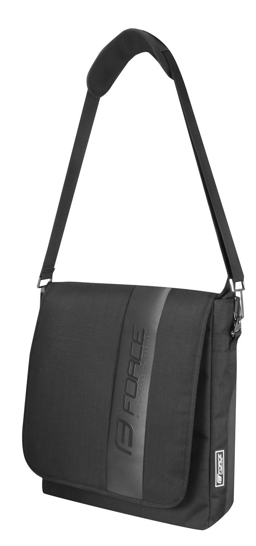 taška přes rameno FORCE BUSINESS, černá