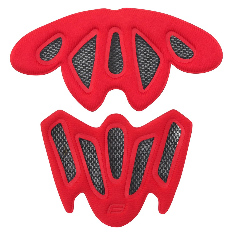 výstelka přilby FORCE ROAD PRO, ROAD, červená UNI