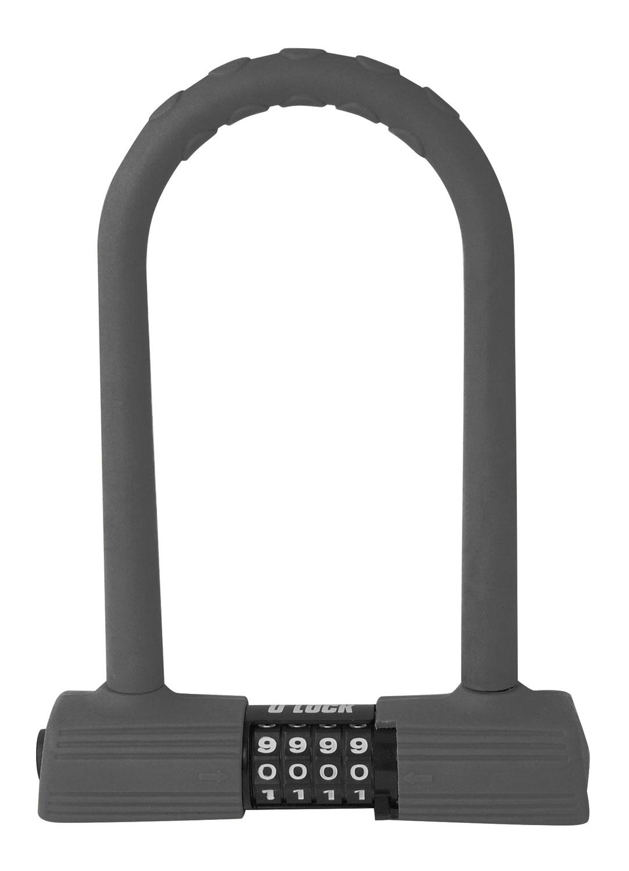 zámek FORCE podkova kódový 24,5cm x 18,5cm, šedý