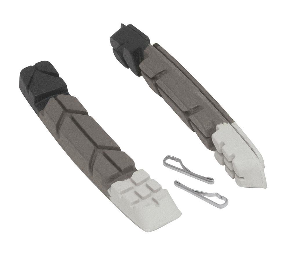gumičky brzd F náhradní, černo-šedo-bílé 70mm