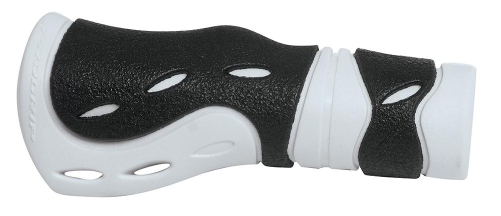 madla gumová ergonomická, černo-bílá, balená