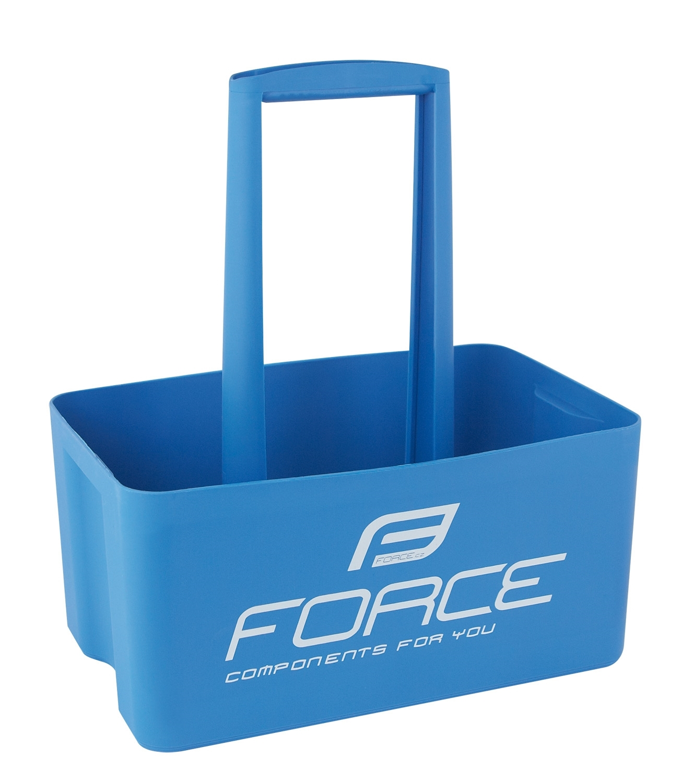 nosič lahví FORCE pro 6 ks lahví, modrý