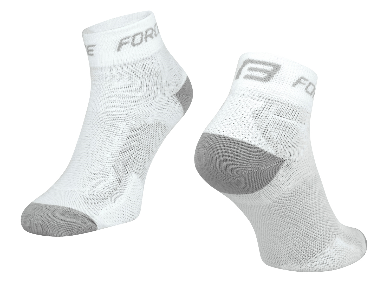 ponožky FORCE 2, bílo-šedé L - XL