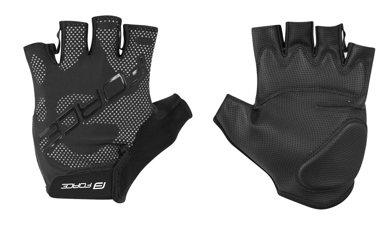 rukavice FORCE BASE, černé XL