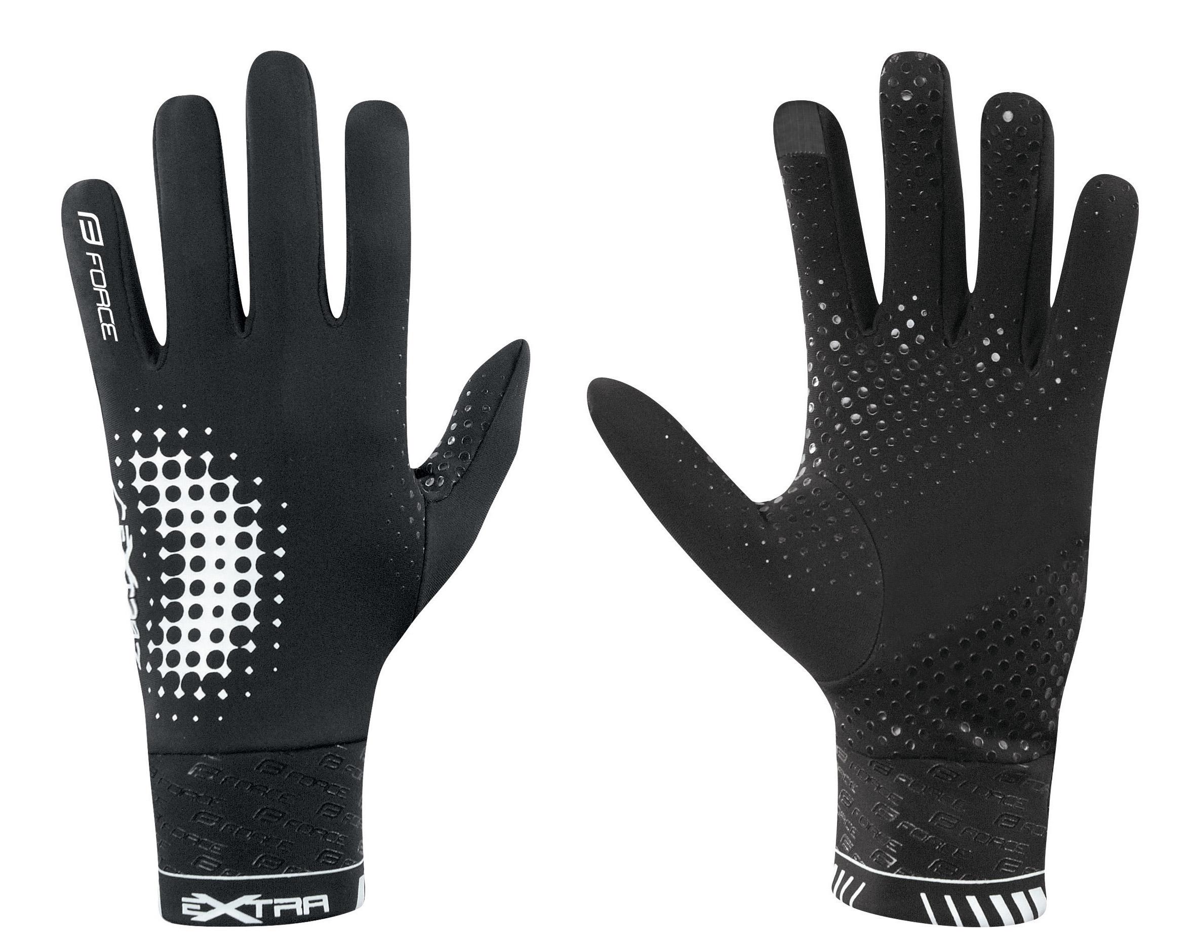 rukavice EXTRA celoprstové černé