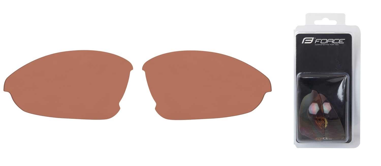 skla náhradní LADY pár, hnědá rozjasňovací