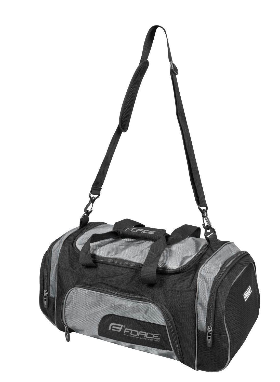 taška sportovní FORCE ACTIVE 32 l, černá
