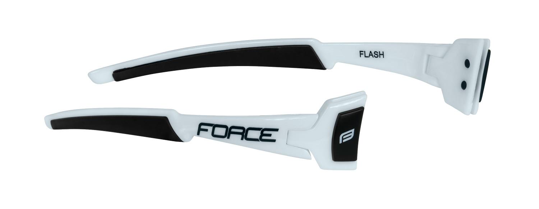 nožičky FORCE FLASH, bílo-černé, náhradní díl