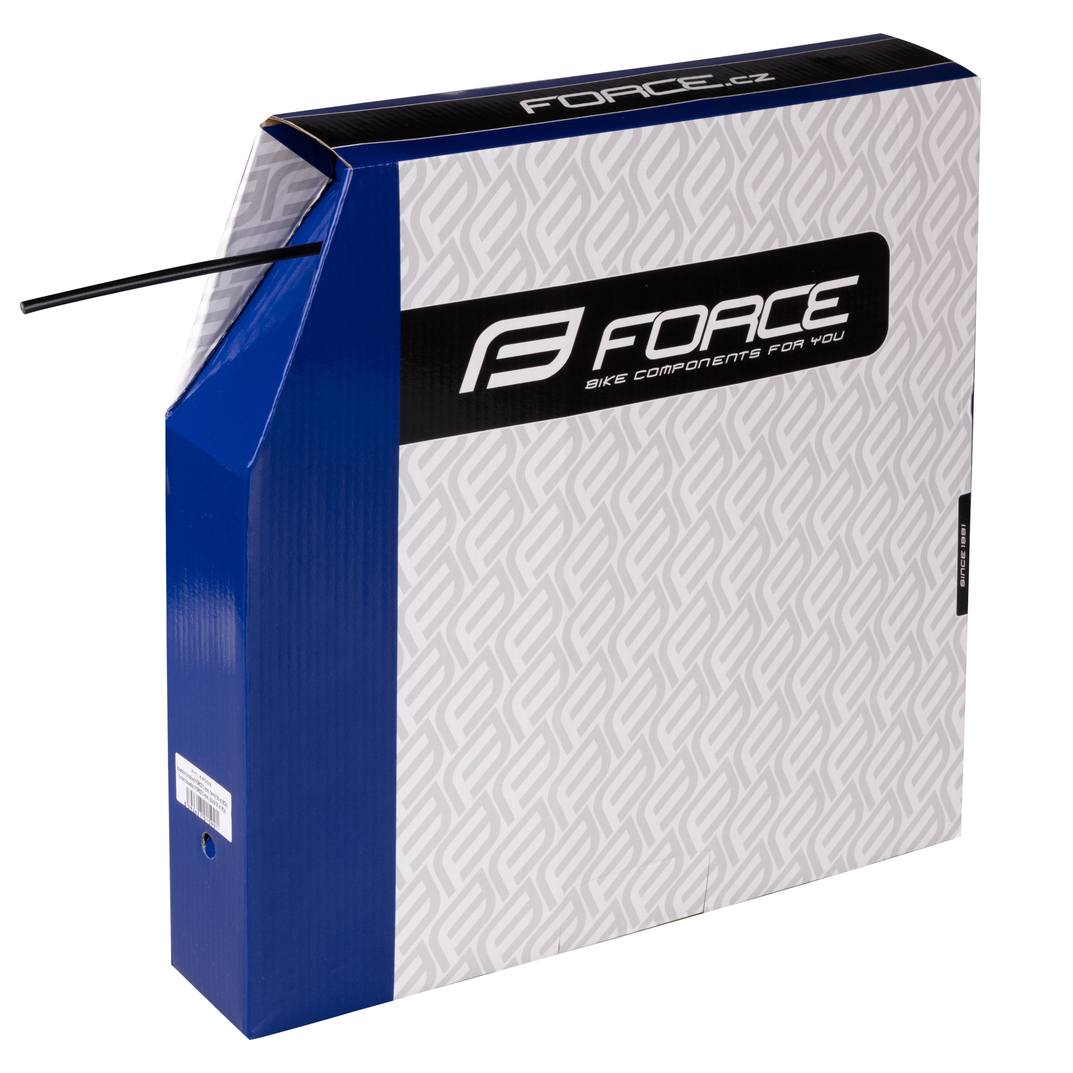 bowden brzdový FORCE 5mm, černý 50m BOX