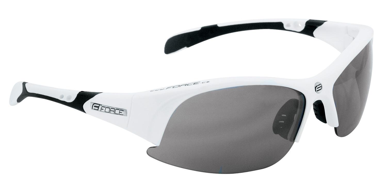 brýle FORCE ULTRA bílé, černá laser skla