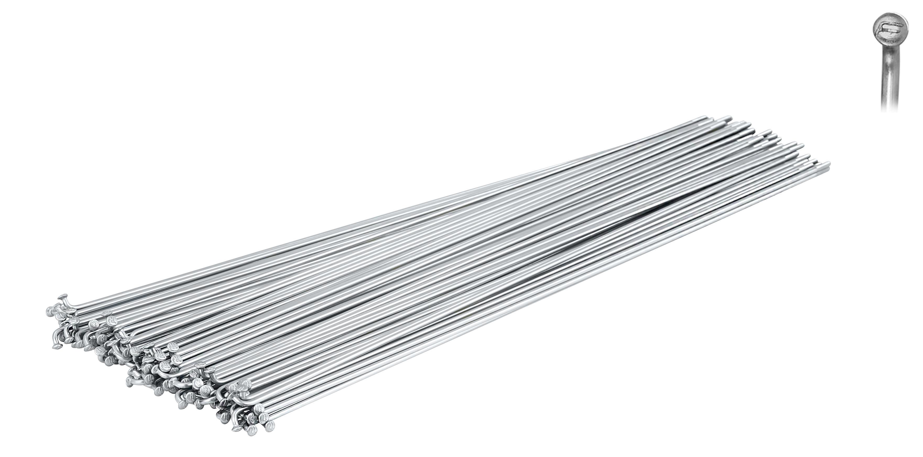 dráty FORCE nerez stříbrné 2 mm x 296 mm