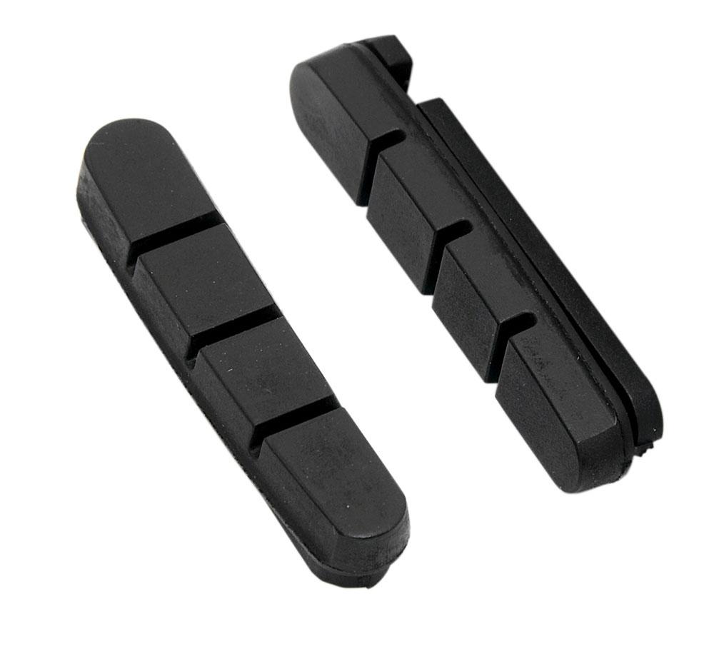 gumičky brzd F silniční náhradní, černé 55mm