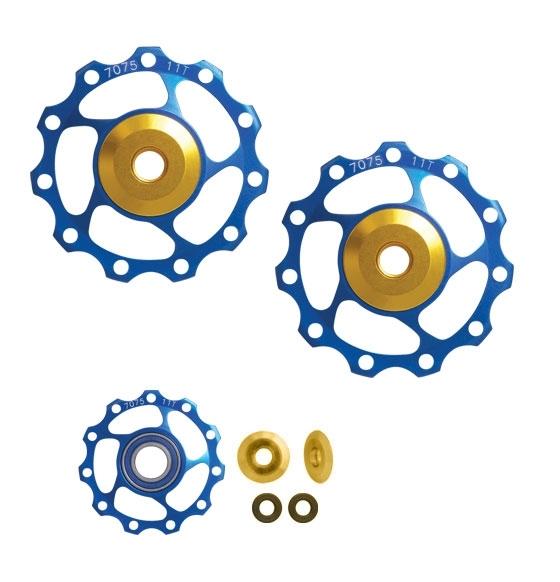 kladky měniče FORCE Al 11z keramická ložiska,modré