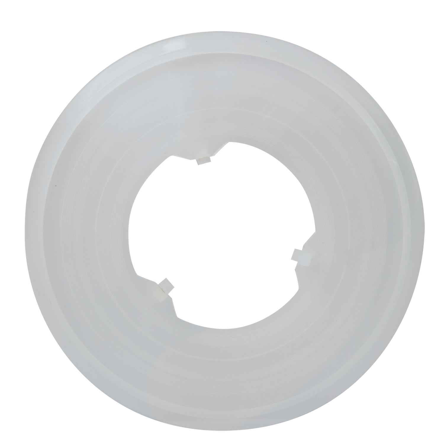 kryt PLAST za vícekolo/ kazetu 138 mm, čirý