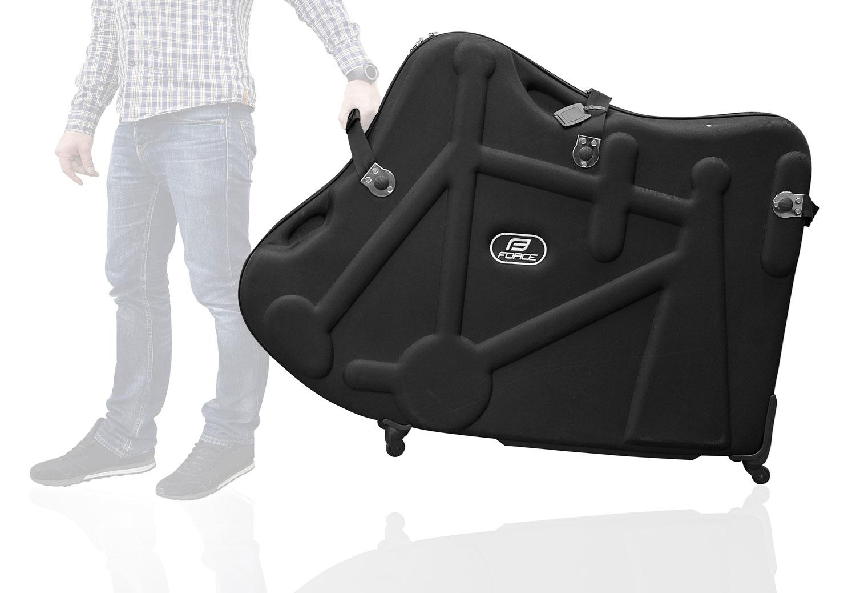 kufr FORCE pro přepravu kola, černá