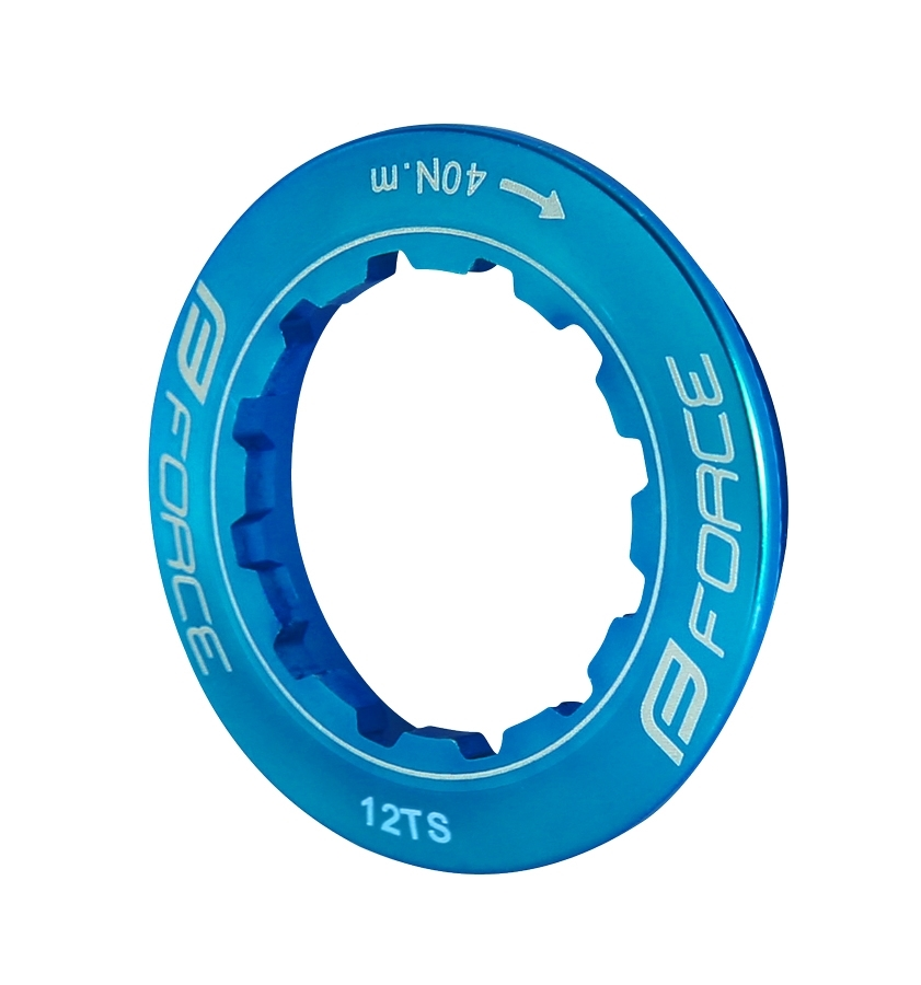 matice pojistná FORCE na kazetu 12z, modrá