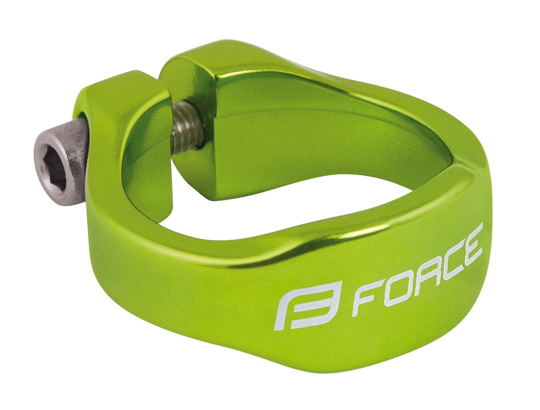 objímka sedlovky FORCE na inbus 31,8mm Al, zelená