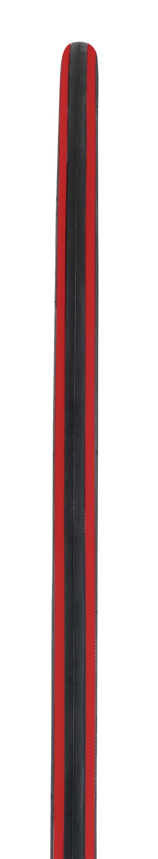 plášť FORCE ROAD 700 x 25C, drát, černo-červený